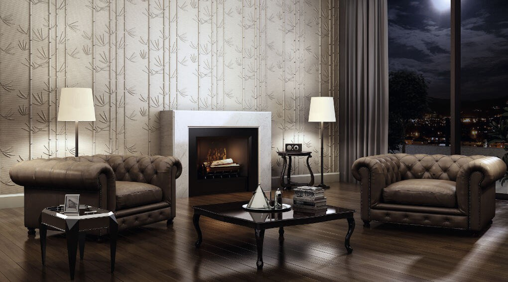 Gypsum Plaster 3D Wall Panels