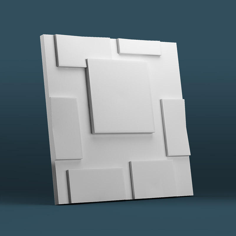 Squares 3D Wall Panels