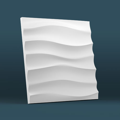 Wave Horizontal 3D Wall Panels