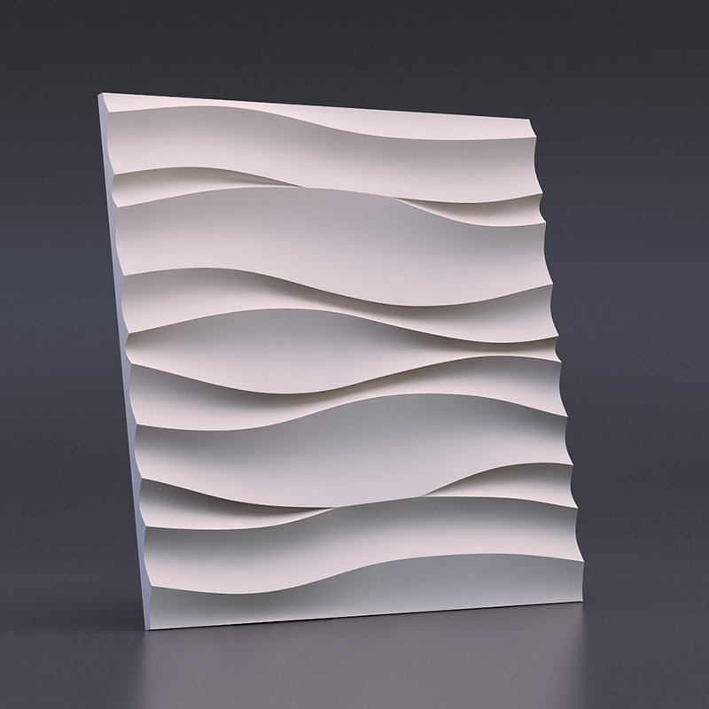 Wave of the Atlantic 3D Wall Panels