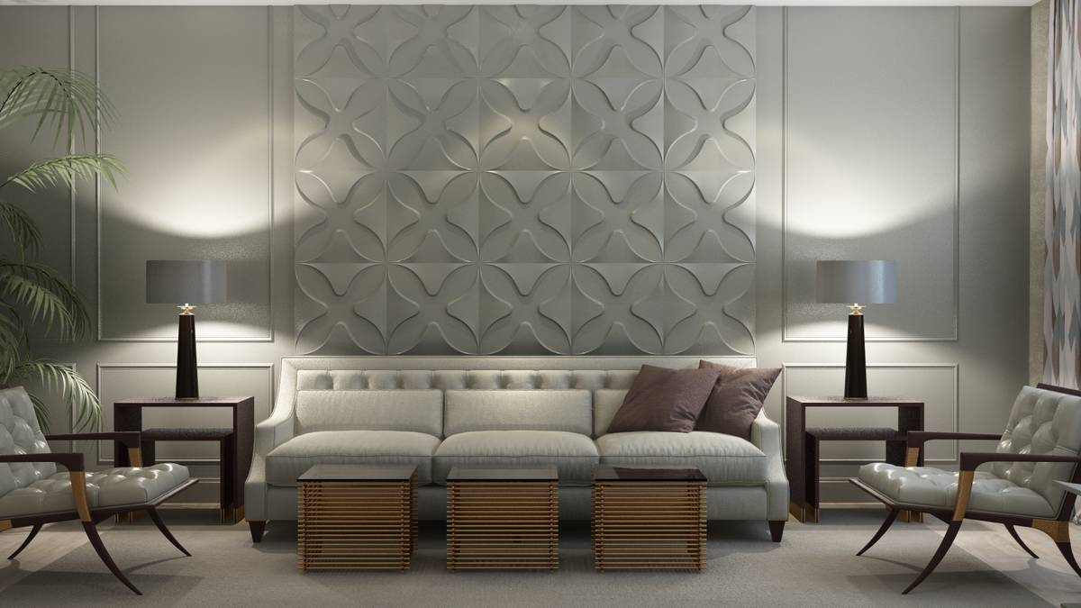 Quatrefoil 3D Wall Panels