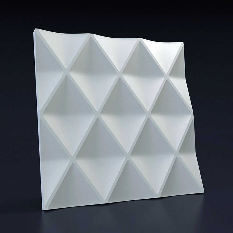 Rhombus 3D Wall Panel